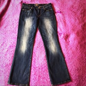 🍀 Lucky Jeans sweet n low size 6 bootcut distress